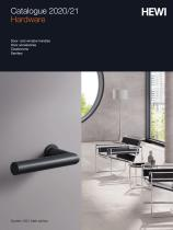 HEWI Hardware Catalogue 2020/21