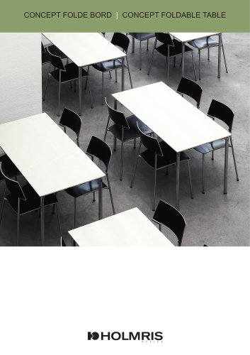 CONCEPT FOLDABLE TABLE