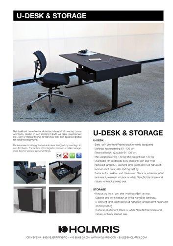 U-DESK & STORAGE
