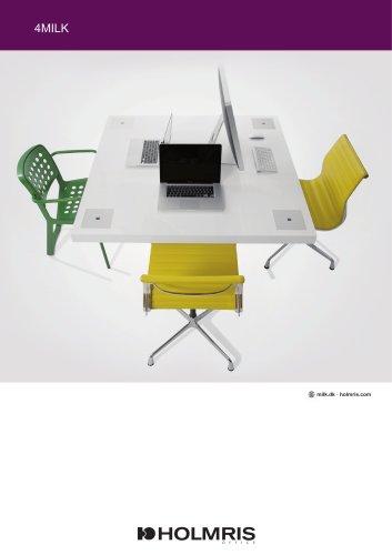Workstations/MILK Desk:4MILK