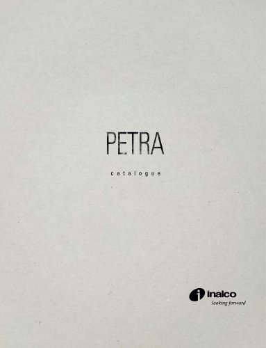 PETRA MONOGRAPHIC CATALOGUE
