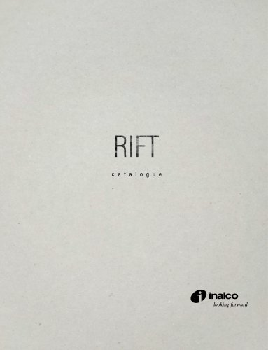 RIFT MONOGRAPHIC CATALOGUE