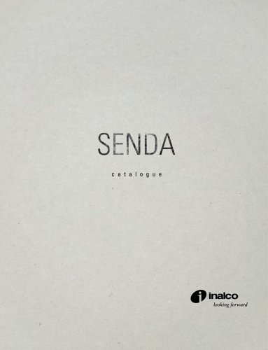 SENDA MONOGRAPHIC CATALOGUE