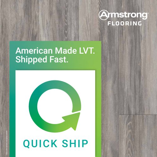 American Made LVT. Shipped Fast.