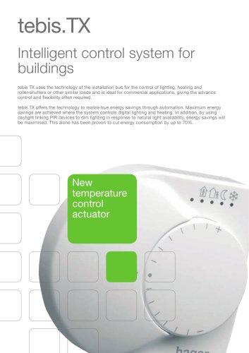 TEBIS.TX - Intelligent control system for buildings