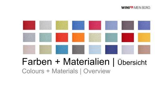 WINI Colours + Materials