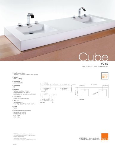 VC 60 The Cube Collection