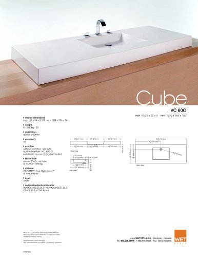 VC 60C The Cube Collection