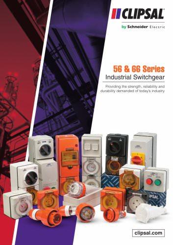 56 & 66 Series Industrial Switchgear
