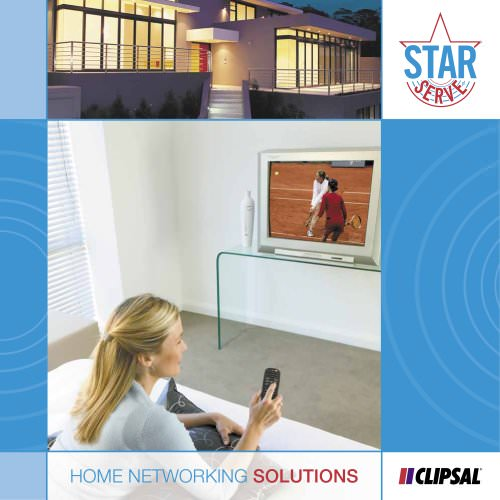 Clipsal StarServe- Home Networking Solutions