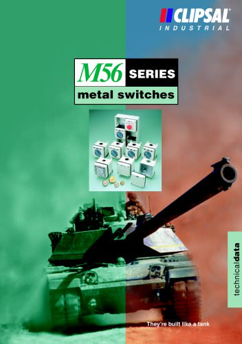 M56 Series Metal Switches technical data