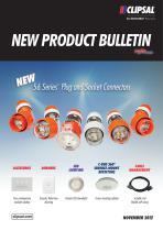 New Product Bulletin - November 2012