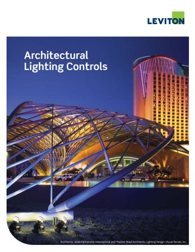 Commercial Architectural Lighting Controls Catalog