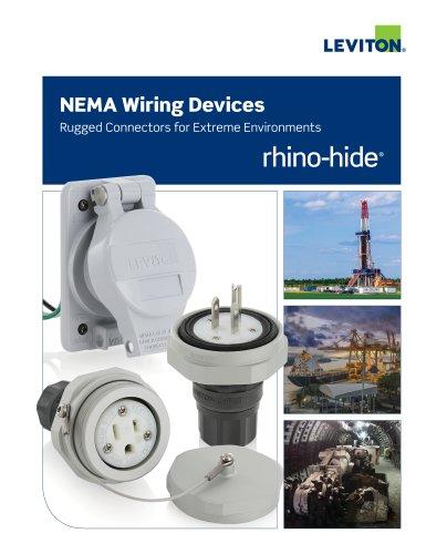 Rhino-Hide NEMA Wiring Devices