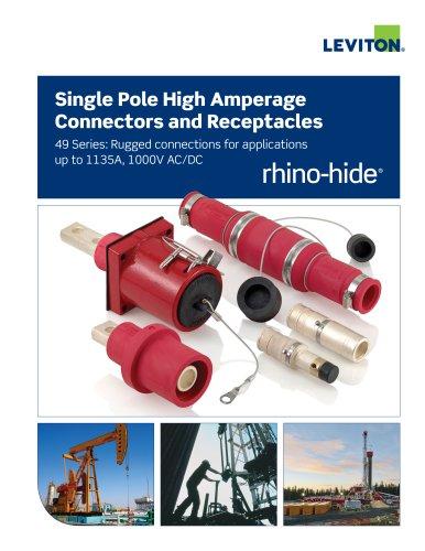 Rhino-Hide Single Pole High Amperage...