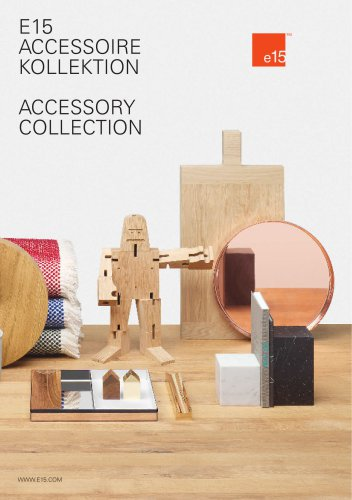 e15 Accessory Catalogue 2016