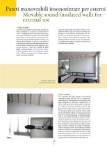 Movable sound-proof walls for external use  PMITT - OUTDOOR