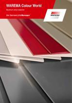 Colour World brochure incl. table