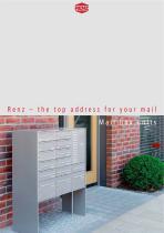 Mail box units