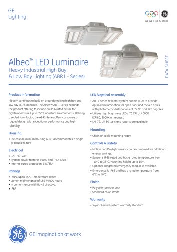 Albeo™ LED Luminaire