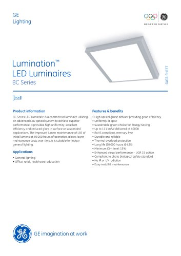 Lumination™ LED Luminaires - BC Series