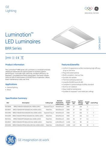 Lumination™ LED Luminaires BRR Series