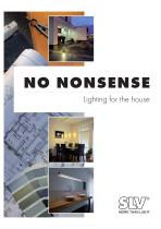NO NONSENSE - Lighting for the house