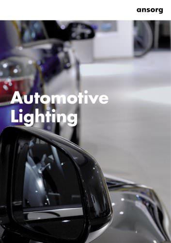 Brochure 'Automotive Lighting'
