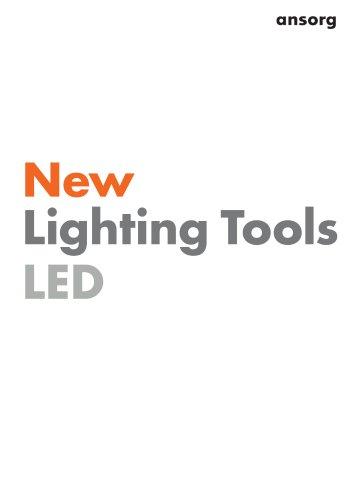 Catalogue 'New Lighting Tools LED´