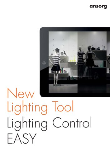 New Lighting Tool Lighting Control EASY