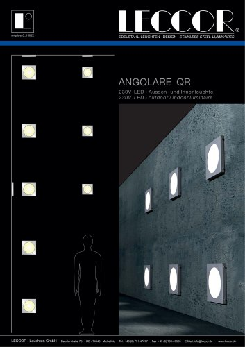 ANGOLARE-QR wall-/ceiling light