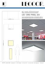 LED - GRID PANEL 625
