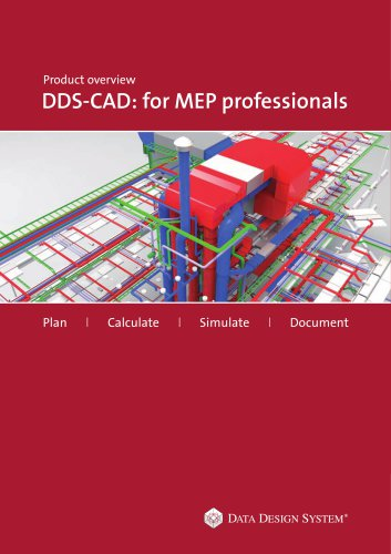 Product overview DDS-CAD: for MEP professionals