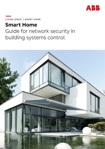 Smart Home Guide for network security in building systems control.