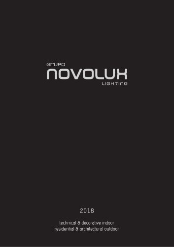 Catalogue Novolux 2018