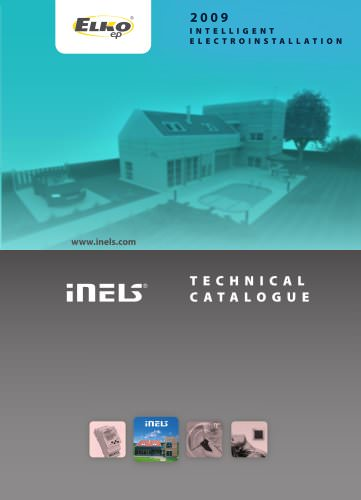 INELS Intelligent and comfortable electrical installation