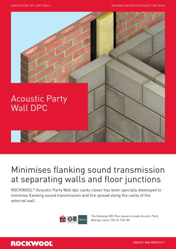 acoustic party wall