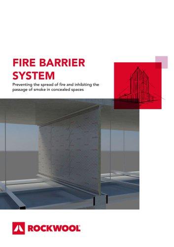 FIRE BARRIER SYSTEM