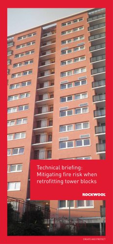 MITIGATING FIRE RISK WHEN RETROFITTING TOWER BLOCKS
