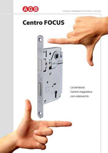Centro FOCUS - La serratura Centro magnetica con catenaccio