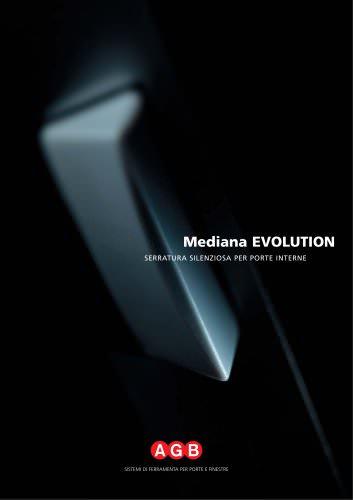 Mediana EVOLUTION - Serratura silenziosa per porte interne
