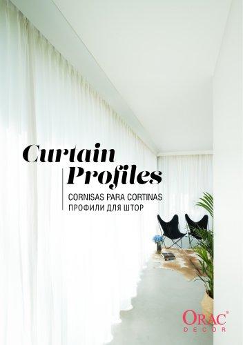 Orac Decor Curtain Profiles-Profili per tende