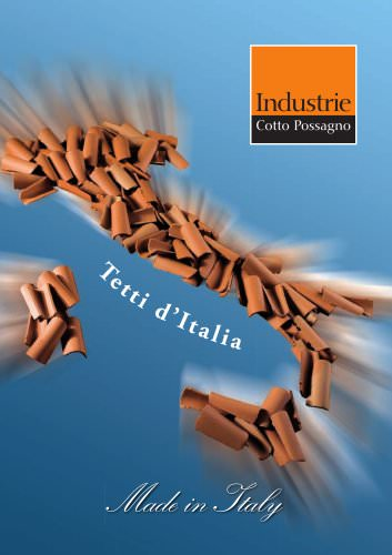 """Brochure """"Made in Italy"""" from page 01 to 25"""