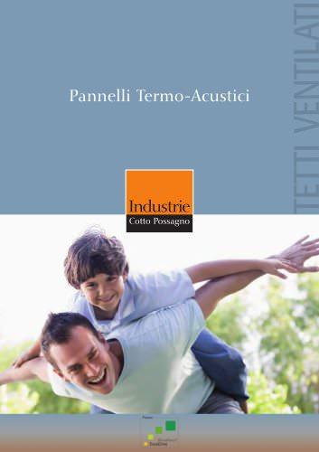 Pannelli Termo-Acustici