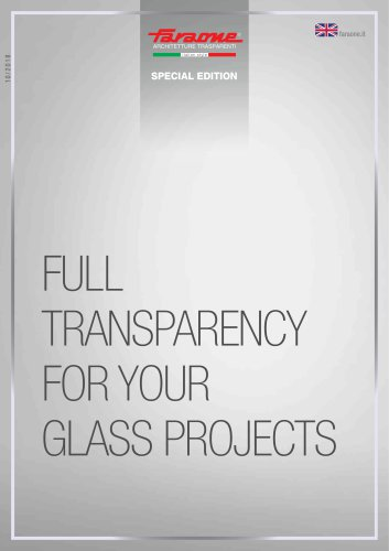 full transparency for your glass projects