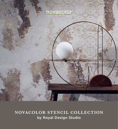 NOVACOLOR STENCIL COLLECTION by Royal Design Studio