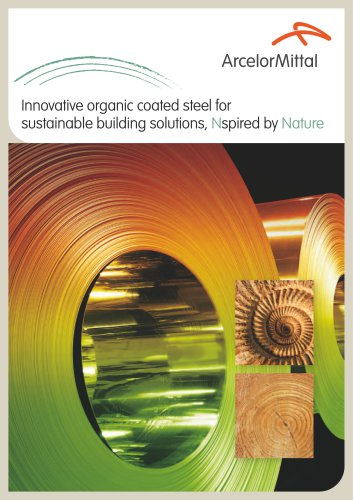 Nature - new collection of sustainable organic coated products
