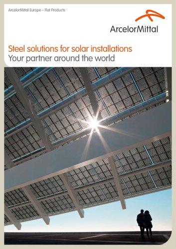 Steel Solutions for Solar Installations