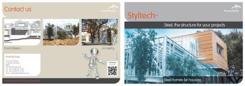 STYLTECH TM - Steel Frames for Housing