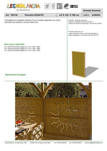 Art. 105134 Pannello DOGATO